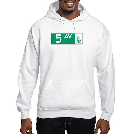 5th Avenue (new), NY - USA Hooded Sweatshirt