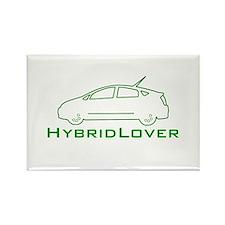 Hybrid Lover Rectangle Magnet