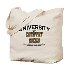 U of Country Music Tote Bag
