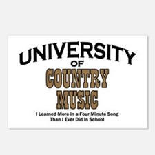 U of Country Music Postcards (Package of 8)