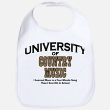 U of Country Music Bib