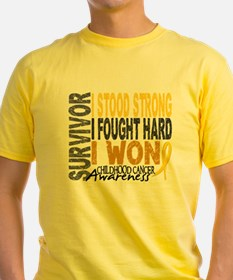 Cool Childhood cancer T