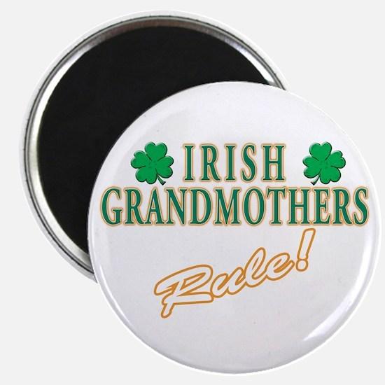 "Irish Grandmothers rule 2.25"" Magnet (10 pack)"