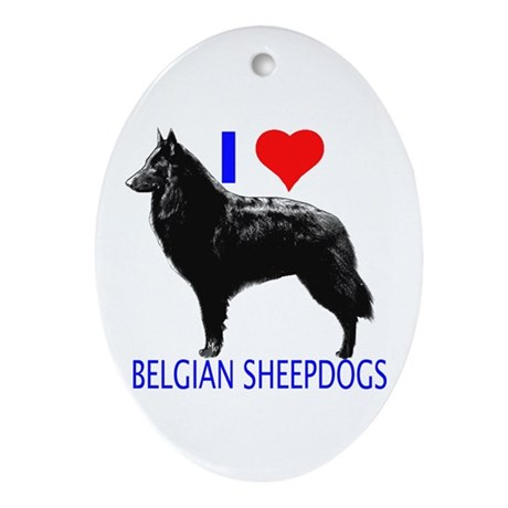 belgian Oval Ornament