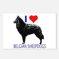 belgian Postcards (Package of 8)