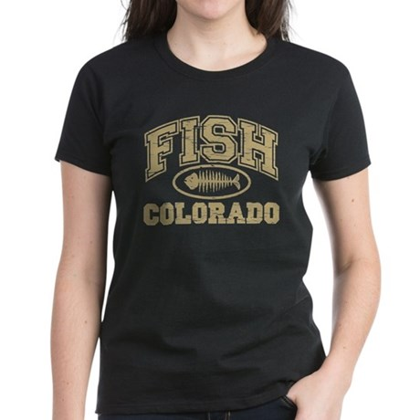 Fish Colorado Women's Dark T-Shirt