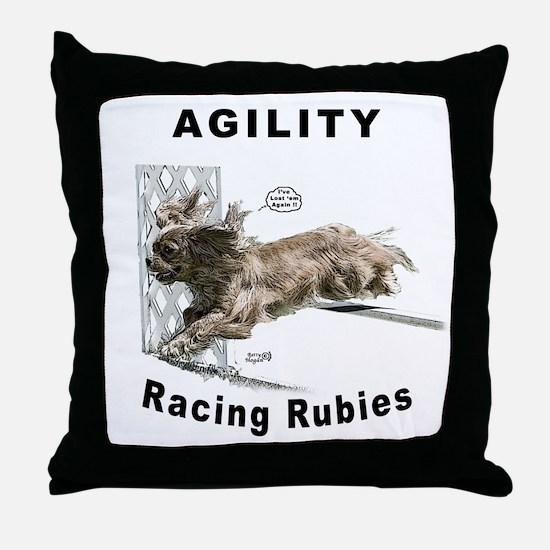 Cavalier/Ruby Agility Throw Pillow