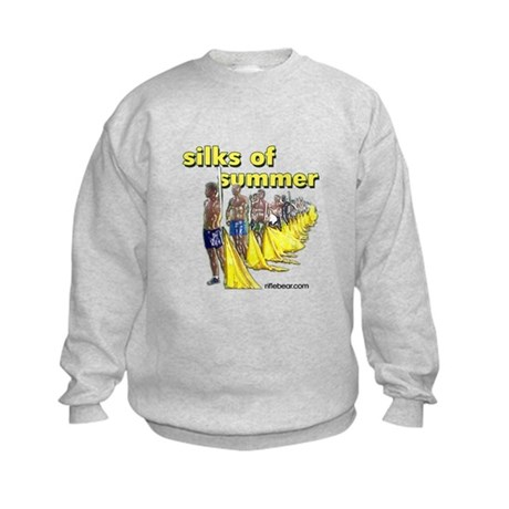 Silks of Summer Kids Sweatshirt