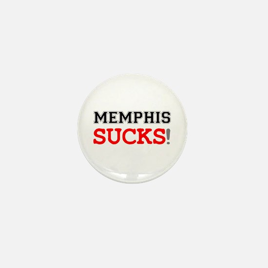 US CITIES SUCK! - MEMPHIS Mini Button
