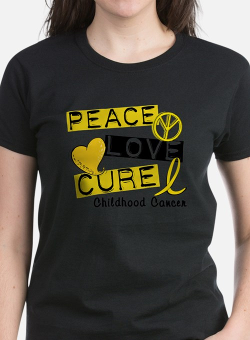 Cute Peace love cure Tee