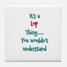 Lop thing Tile Coaster