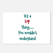 Lop thing Postcards (Package of 8)