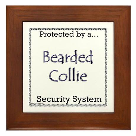 Bearded Security Framed Tile