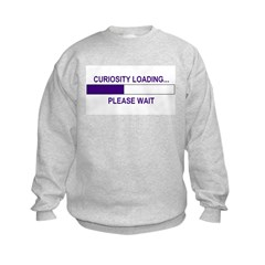 CURIOSITY LOADING... Sweatshirt