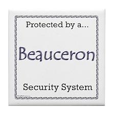 Beauceron Security Tile Coaster