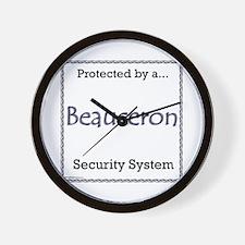 Beauceron Security Wall Clock