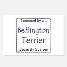 Bedlington Security Postcards (Package of 8)