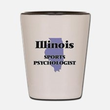 Illinois Sports Psychologist Shot Glass