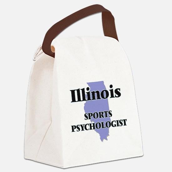 Illinois Sports Psychologist Canvas Lunch Bag