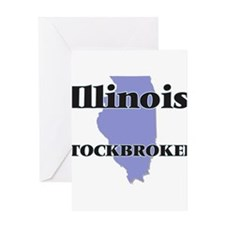Illinois Stockbroker Greeting Cards
