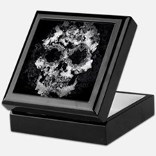 Wet Skull Keepsake Box