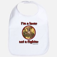 i'm a lover not a fighter Bib