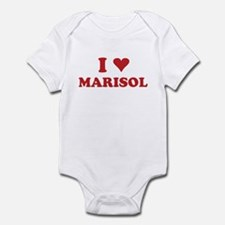 I LOVE MARISOL Infant Bodysuit