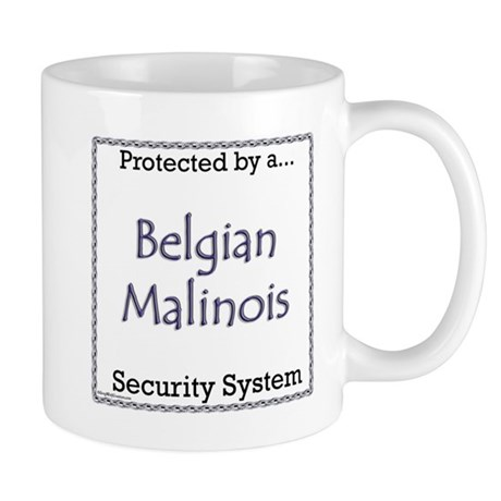 Malinois Security Mug