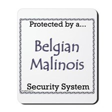 Malinois Security Mousepad
