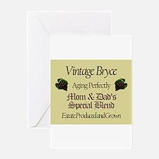 Vintage Bryce Greeting Card