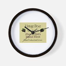 Vintage Bryce Wall Clock