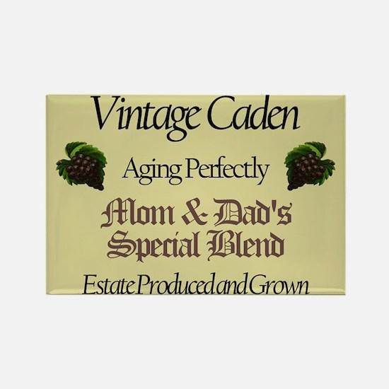 Vintage Caden Rectangle Magnet (10 pack)