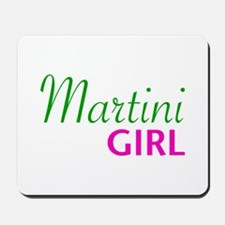 Martini Girl Mousepad