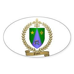 GODET Family Crest Oval Decal