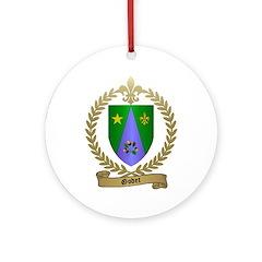 GODET Family Crest Ornament (Round)