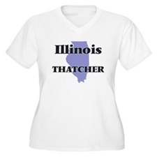 Illinois Thatcher Plus Size T-Shirt