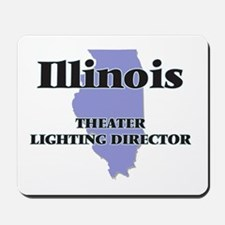 Illinois Theater Lighting Director Mousepad