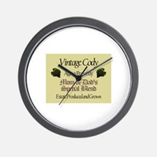 Vintage Cody Wall Clock