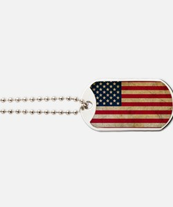 Unique Usa flags Dog Tags