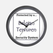 Terv Security Wall Clock