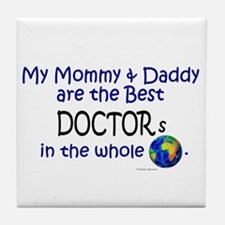 Best Doctors In The World Tile Coaster