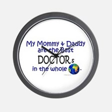 Best Doctors In The World Wall Clock