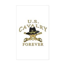Cavalry Forever Rectangle Decal