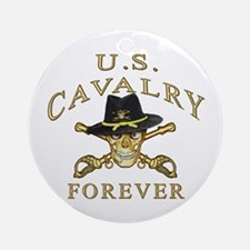 Cavalry Forever Ornament (Round)