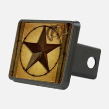 primitive  texas lone star Hitch Cover
