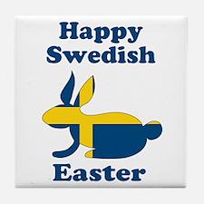 Swedish Easter Tile Coaster