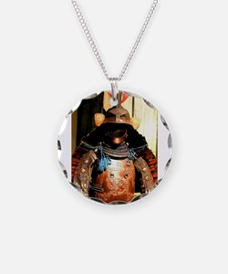 Japanese Samurai Armor Necklace