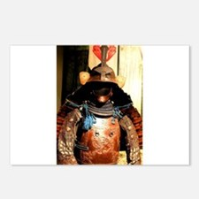 Japanese Samurai Armor Postcards (Package of 8)