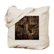 equestrian cowboy boots western  Tote Bag