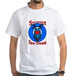 Scooter White T-Shirt